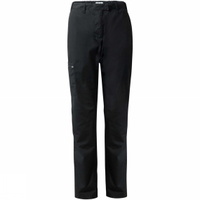 Craghoppers Craghoppers Womens Kiwi II Winter Lined Trousers Black