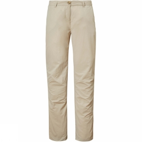 Craghoppers Craghoppers Womens NosiLife Trousers Desert Sand