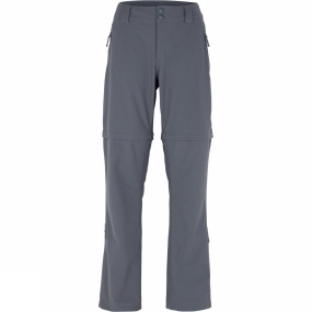 The North Face The North Face Womens Green Lake Zip Off Trousers Vanadis Grey
