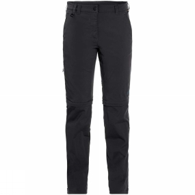Jack Wolfskin Jack Wolfskin Womens Activate Light Zip Off Trousers Black