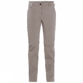 Jack Wolfskin Jack Wolfskin Womens Activate Light Zip Off Trousers Moon Rock