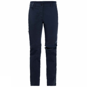Jack Wolfskin Jack Wolfskin Womens Activate Light Zip Off Trousers Midnight Blue