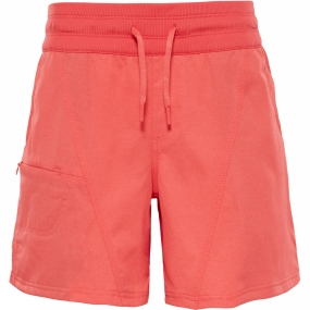 Product image of The North Face Womens Aphrodite 2.0 Short Cayenne Red Heather