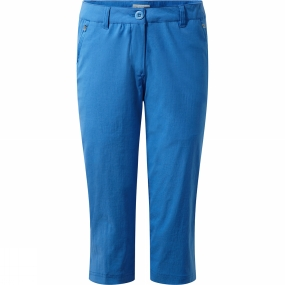 Craghoppers Craghoppers Womens Kiwi Pro II Crops Bluebell
