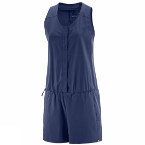 Salomon Salomon Womens Radiant One Piece Medieval Blue