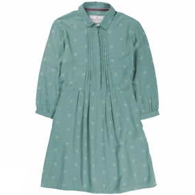 Brakeburn Womens Trees Fitted Shirt Dress