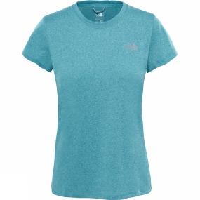 The North Face The North Face Womens Reaxion Amp Crew Bristol Blue Heather
