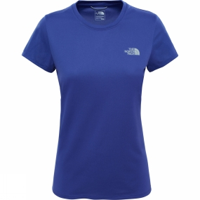 The North Face Womens Reaxion Amp Crew Bright Navy