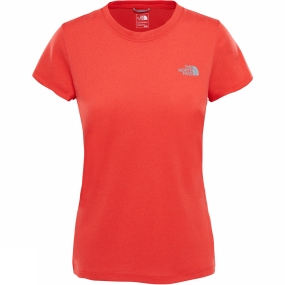 The North Face The North Face Womens Reaxion Amp Crew Juicy Red Heather