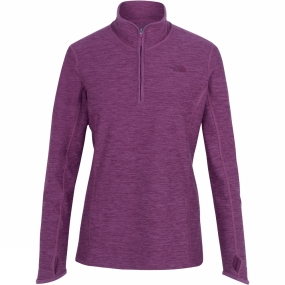 The North Face The North Face Womens Motivation 1/4 Zip Top Wood Violet Heather