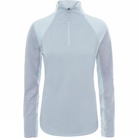 The North Face The North Face Womens Motivation 1/4 Zip TNF Light Grey Heatherather