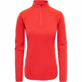 The North Face The North Face Womens Motivation 1/4 Zip Juicy Red