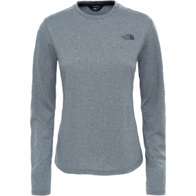 The North Face The North Face Womens LS Tanken Tee TNF Medium Grey Heather