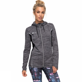 Roxy Roxy Womens Gnessa Fleece Charcoal Heather