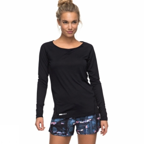 Roxy Roxy Womens Wild Soul Long Sleeve Tee Anthracite