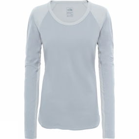 The North Face The North Face Womens Motivation Long Sleeve Shirt TNF Light Grey Heatherather