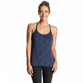 Roxy Roxy Womens Any Weather 2 Tank Blue Depths