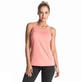 Roxy Roxy Womens Betty Bee Tank Shell Pink