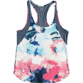 Roxy Roxy Womens Beat The Rhythm Tank DRESS BLUE CLOUD NINE