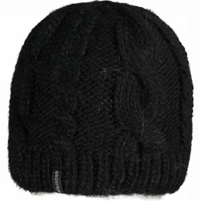 Ayacucho Womens Cable Beanie Black