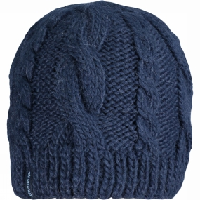 Ayacucho Womens Cable Beanie Navy