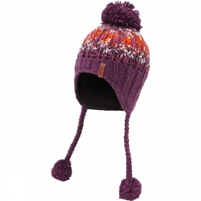 Craghoppers Womens Kimberley Rainbow Hat Dark Rioja Red