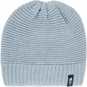 The North Face The North Face Womens Purrl Stitch Beanie TNF Light Grey Heather