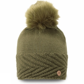 Craghoppers Womens MarInteractive Knit Hat Dark Moss