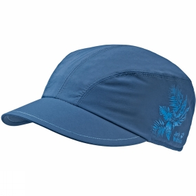 Jack Wolfskin Womens Supplex Jungle Cap Ocean Wave