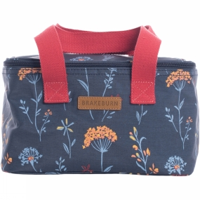 Brakeburn Womens Summer Dandelion Cool Bag Navy Flower Print