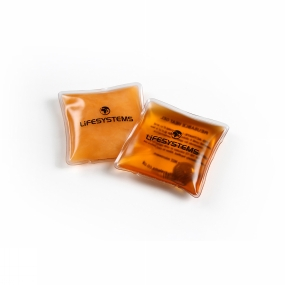 Lifesystems Reusable Hand Warmers Orange / Clear
