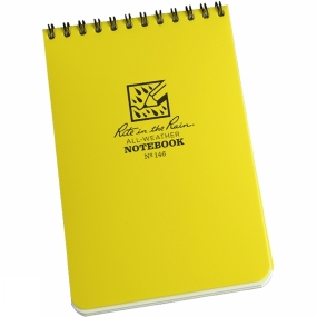 Rite in the Rain Rite in the Rain All-Weather Notebook 4 x 6in Yellow
