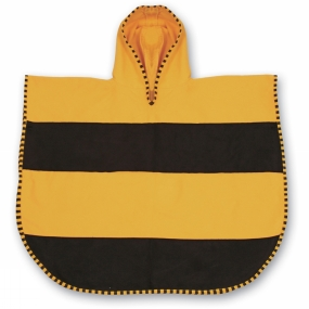 LittleLife LittleLife Kids Ultralight Poncho Towel Medium Bee