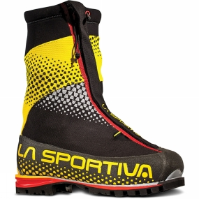 La Sportiva Mens G2 SM Boot Black/Yellow