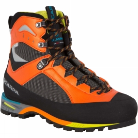 Snow and Rock Scarpa Men's Charmoz Boot Shark/Orange