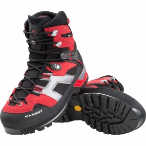 Mammut Mens Magic High GTX Boots Inferno/Black