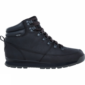 The North Face Mens Back To Berkeley Leather Boot TNF Black/ TNF Black