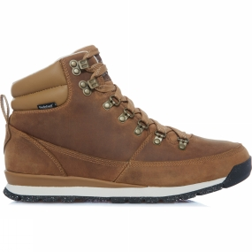 The North Face Mens Back To Berkeley Leather Boot Dijon Brown