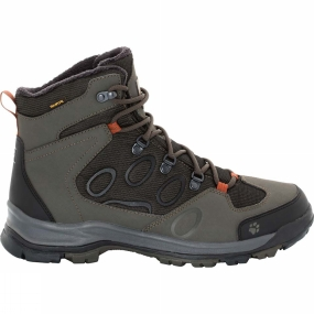 Jack Wolfskin Mens Cold Terrain Texapore Mid Boot Pinewood