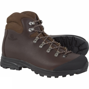 Scarpa Mens Delta Leather Boot Dark Brown Review