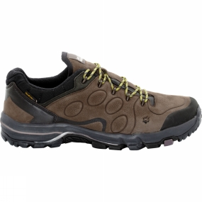 Jack Wolfskin Mens Altiplano Prime Texapore Low Shoe Mocca