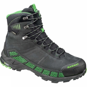 Mammut The Mens Comfort Guide High GTX Surround from Mammut is a pair of boots that is suitable be it from, taking a hike through winding forests or from a casual walk through town.