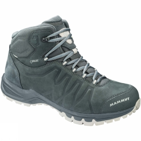 Mammut The Mens Mercury III Mid GTX from Mammut is a pair of boots that is suitable be it from, taking a hike through winding forests or from a casual walk through town.