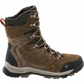 Jack Wolfskin Jack Wolfskin Mens Glacier Bay Texapore High Boot Earth Brown