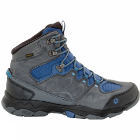 Jack Wolfskin Jack Wolfskin Mens MTN Attack 5 Texapore Mid Boot Dark Iron/Ocean Wave