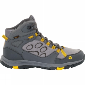Jack Wolfskin Jack Wolfskin Mens Activate Texapore Mid Boot Burly Yellow Xt