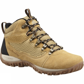 Columbia Columbia Mens Peakfreak Venture Mid Suede WP Boot Curry / Ancient Fossil