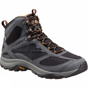 Columbia The Terrebonne Mid OutDry Shoe from Columbia is a lightweight, mid cut multi-sport shoe with plenty of protection and durability for the most rugged of terrain. The OutDry upper construction is waterproof and breathable, with a rubber scratch toecap for extra protection. It uses Techlite technology in the midsole, providing long lasting comfort, superior cushioning and high energy return. The Vibram Mont Performance Durability Outsole maintains performance at low temperatures and provides for maximum support.