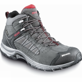 Meindl Meindl Mens Journey Mid GTX Boot Anthracite/Red