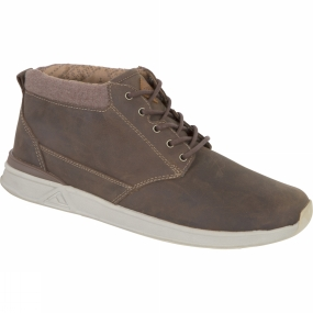 Reef Mens Rover Mid FGL Shoe Bronze Brown